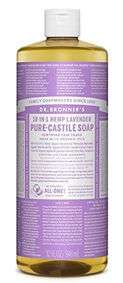 Amazon.com: Dr. Bronner's Pure-Castile Liquid Soap, 32 oz (Lavender) only $9.35!
