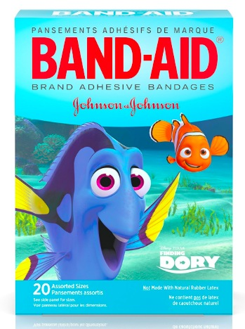 Amazon.com: Finding Dory Band-Aid Bandages (20 count) just $1.50!