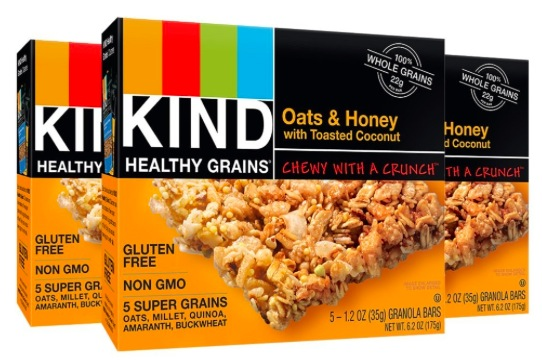 Amazon.com: KIND Healthy Grains Granola Bars (15 count) only $7.13 shipped!