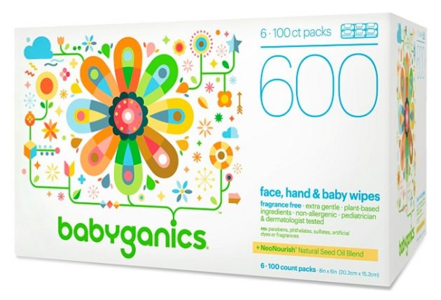 Amazon.com: Babyganics Face, Hand & Baby Wipes (600 count) just $12.96 shipped!