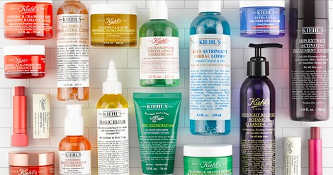 Free Kiehl's Skincare Sample Pack