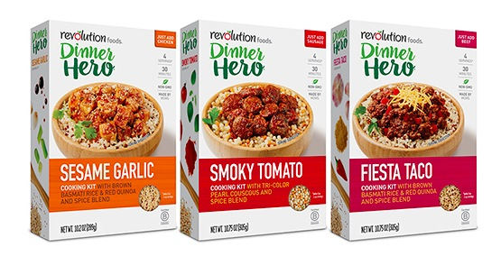 Free Revolution Foods Dinner Hero Product Coupon
