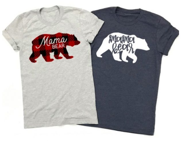Get a Mama Bear Tee for only $13.99!