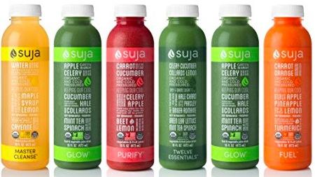 Target: Free Suja Organic Cold Pressed Juice!