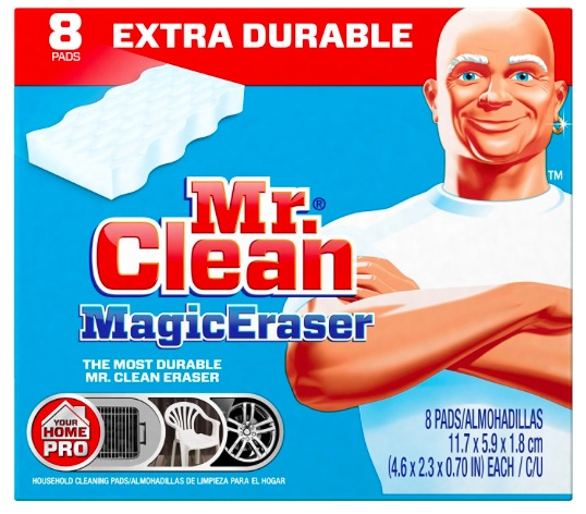Amazon.com: Mr. Clean Magic Eraser Extra Power Cleaning Sponges, 8 count box just $4.56 shipped!