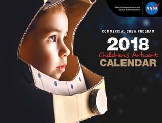 Free NASA Printable Calendar for Kids
