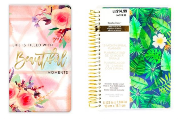 Michaels: 20% off entire purchase (including sale items!) = 60% off 2018 Planners!