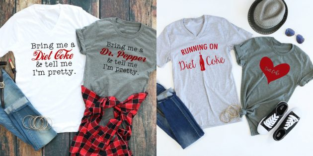 Get a Diet Coke/Dr. Pepper Tee as low as $13.99!