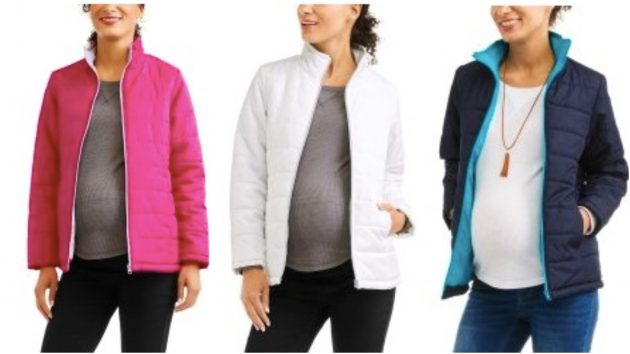 Walmart.com: Faded Glory Maternity Jacket only $5!