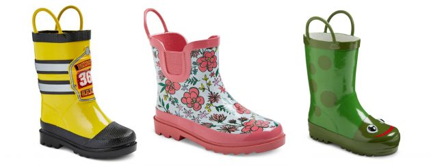 Target.com: Up to 50% off select Kid's Rain Boots!