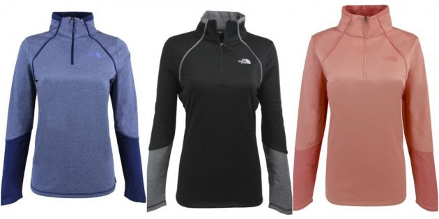Get a North Face Women's 100 Cinder 1/4 Zip Pullover for just $38 shipped (reg. $65)!