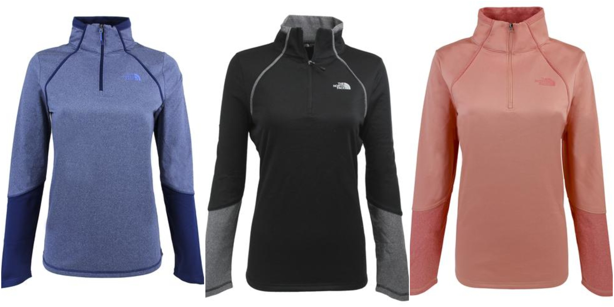 03ed0bc52 Get a North Face Women's 100 Cinder 1/4 Zip Pullover for just $38 ...