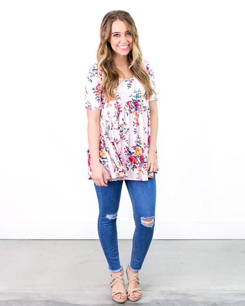 Get a Floral Tunic Top as low as $13 shipped!