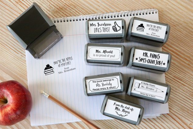Get Self Inking Teacher Stamps for just $9.99!