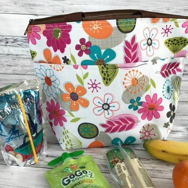 Get Floral Pattern Insulated Snack Bags for just $4.99 + shipping!