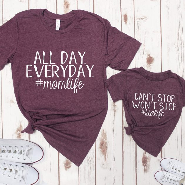 Get Mommy & Me Tees for only $13.99!