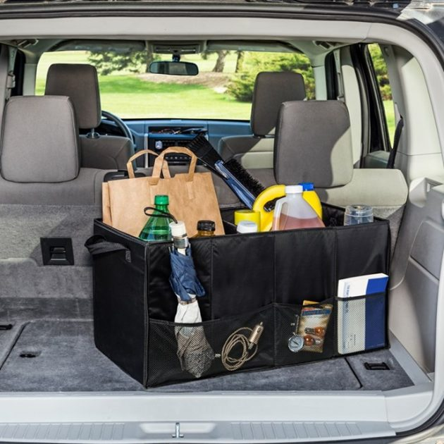 Get a Folding Trunk Organizer for just $11.99 shipped!