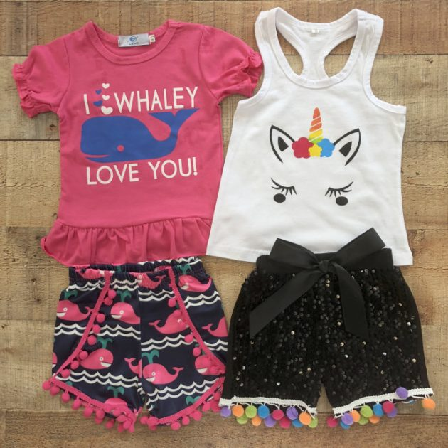 Get Girls Shorts Sets for only $13.99!
