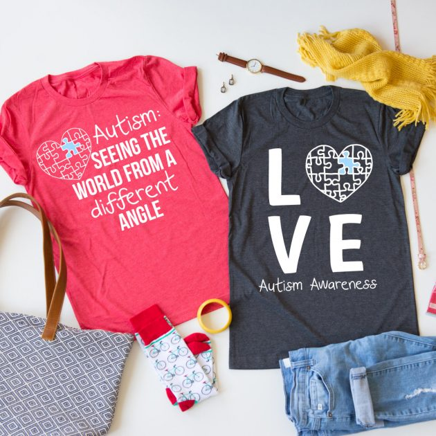 Get an Autism Awareness Tee for only $13.99!