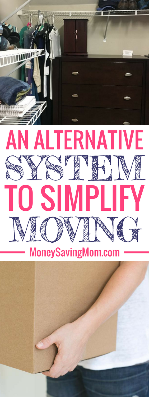 Looking to simplify the moving process? Try this alternative method of moving that works for many people!