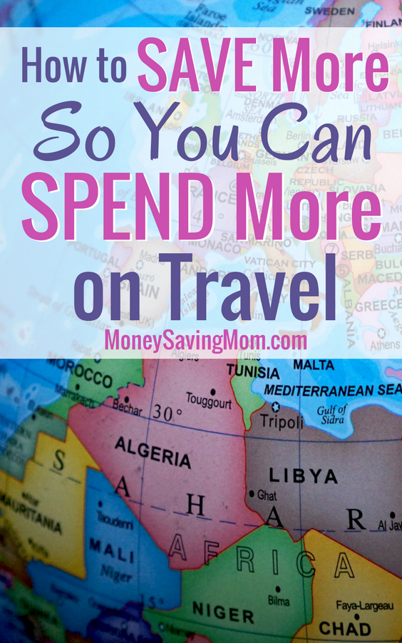 Love traveling, but on a budget? Check out these tips on how to SAVE more so you can SPEND more on travel!!