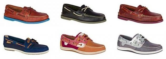 Get Sperry Boat Shoes for only $39.99 shipped!