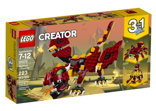 Amazon.com: LEGO Creator Mythical Creatures Building Kit only $11.99!