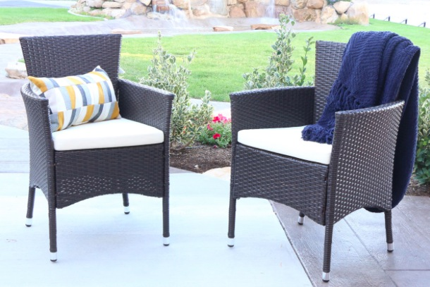Get Outdoor Patio Rattan Chairs (Set of 2) for just $99.99 shipped!