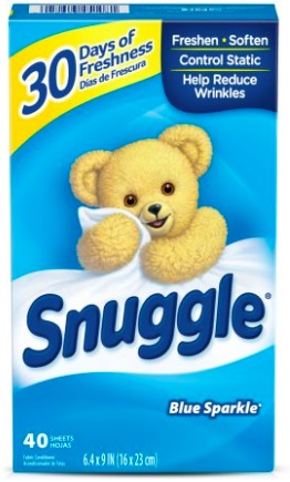High Value $1/1 Snuggle Printable Coupon = $0.84 Dryer Sheets at Walmart!