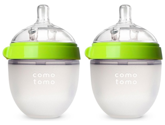 Amazon.com: Two Pack Comotomo 5oz Baby Bottles just $16.80!