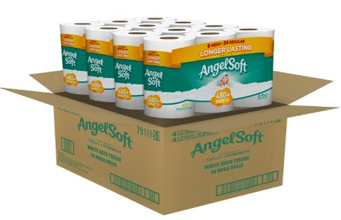 Amazon.com: Angel Soft Toilet Paper only $0.37 per double roll!