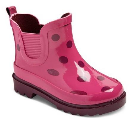 Target.com: Up to 70% off Toddler & Girls Rain Boots!