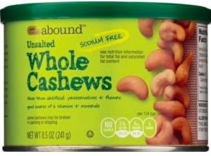 CVS: Abound Organic Cashews only $4.99!