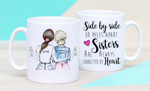 Get a Personalized Best Friends Mug for just $13.49!
