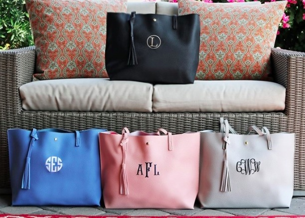 Get Personalized Tassel Totes for just $13.99 + shipping!