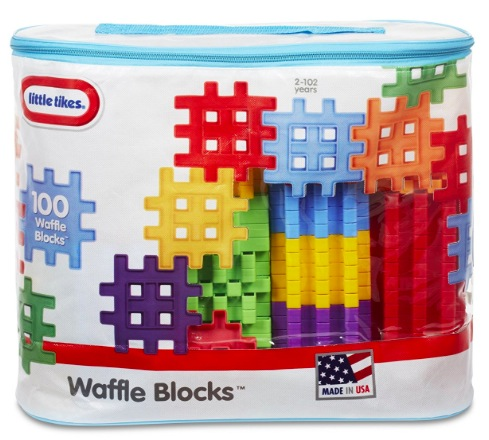 Amazon.com: Little Tikes Waffle Blocks Bag (100 pieces) only $13.39!