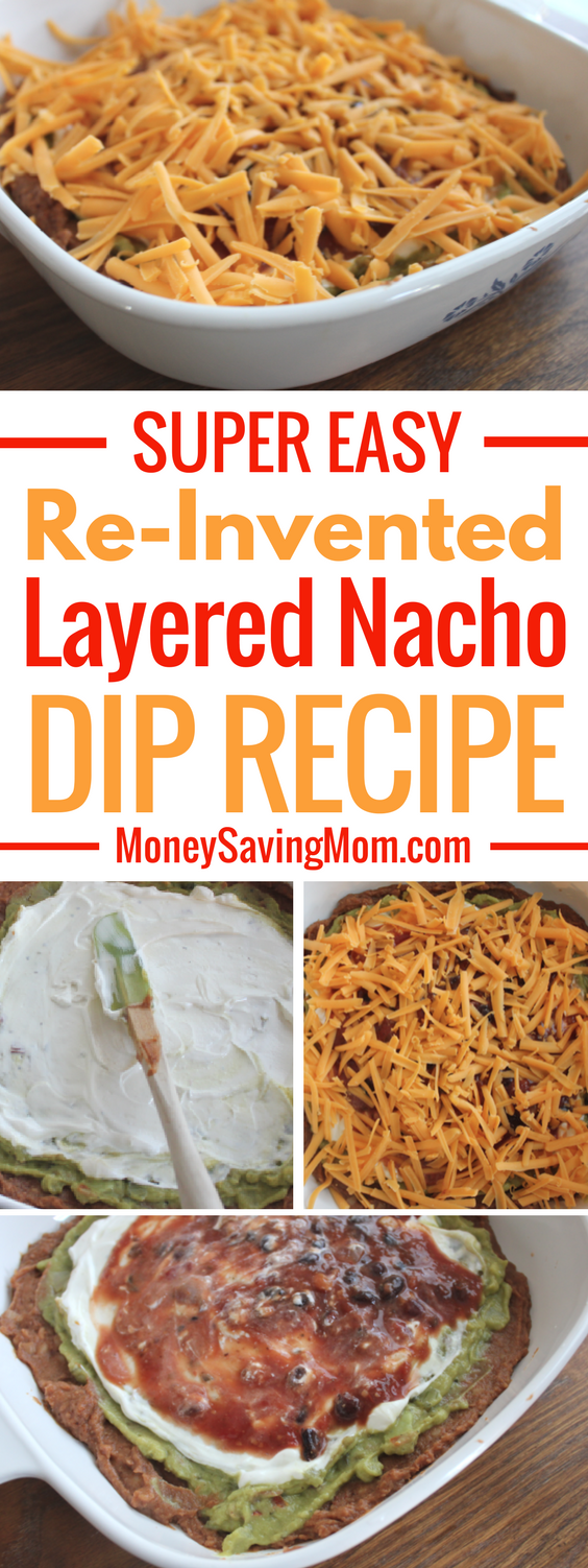 This Layered Nacho Dip recipe can be tweaked to fit all preferences or dietary restrictions. It's SO easy and versatile!