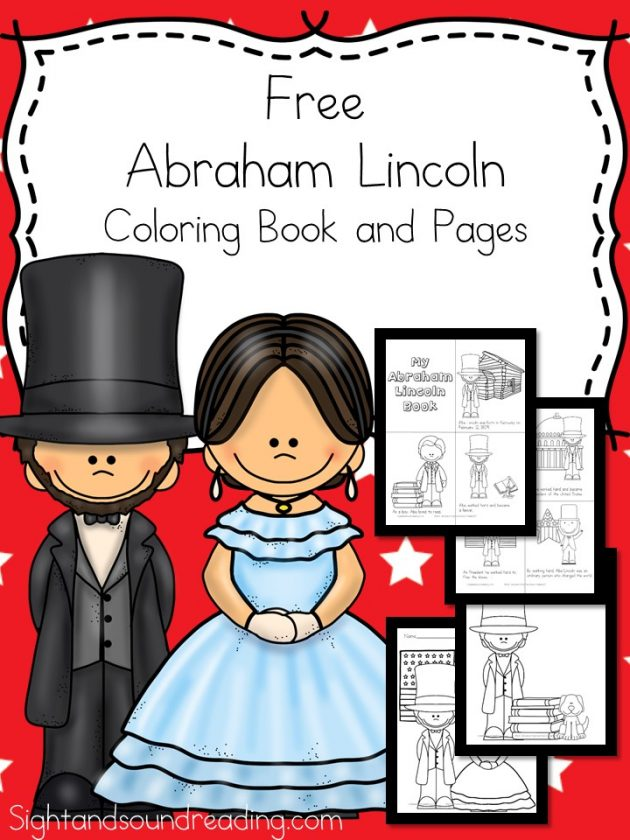 Free Printable Abraham Lincoln Coloring Pages Money Saving Mom