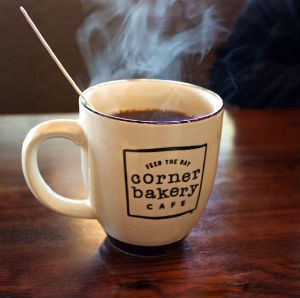 Corner Bakery Cafe: Free Small Coffee