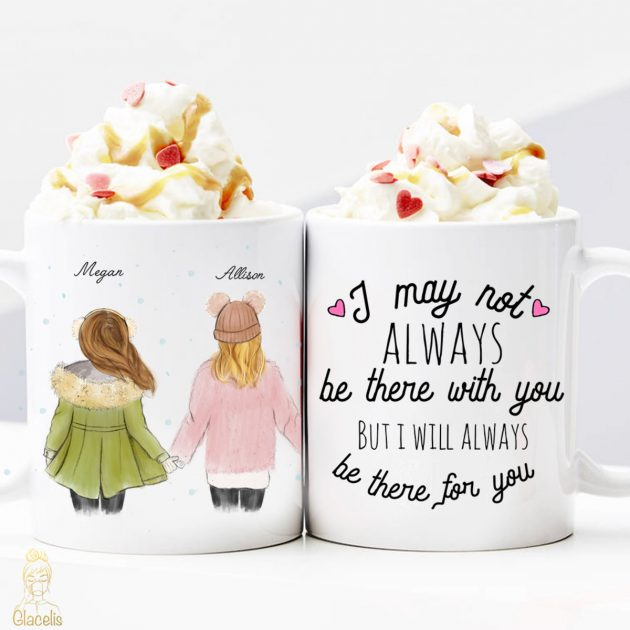 Get a Personalized Best Friends Coffee Mug for just $13.50!