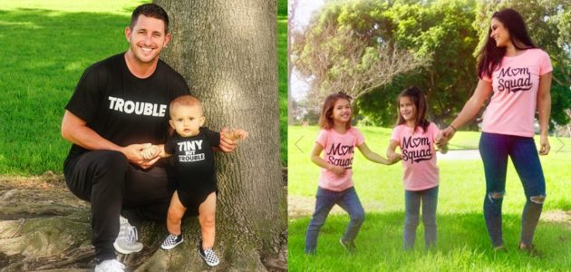 The Children's Place: Up to 60% off Daddy/Mommy & Me Tees + Free Shipping!