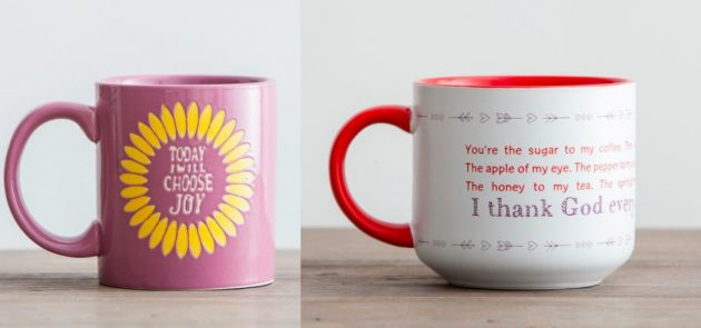 DaySpring: Get coffee mugs, coloring books, journals, and more as low as $4 shipped! (Great Valentine's Day Ideas!)