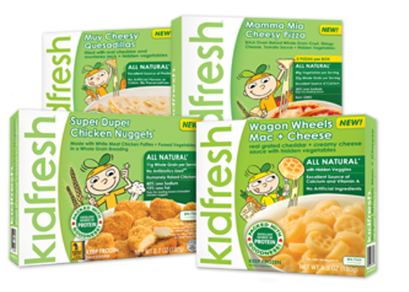 Target: Free Kidfresh Frozen Meals!