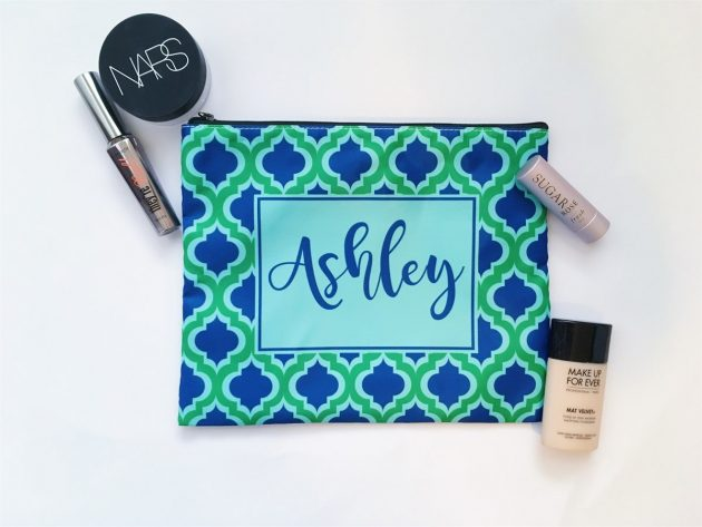 Get Personalized XL Cosmetic Bags for just $9.99 + shipping!