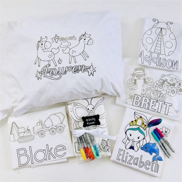 Get Personalized Color-On Pillowcases for just $8.95 each!