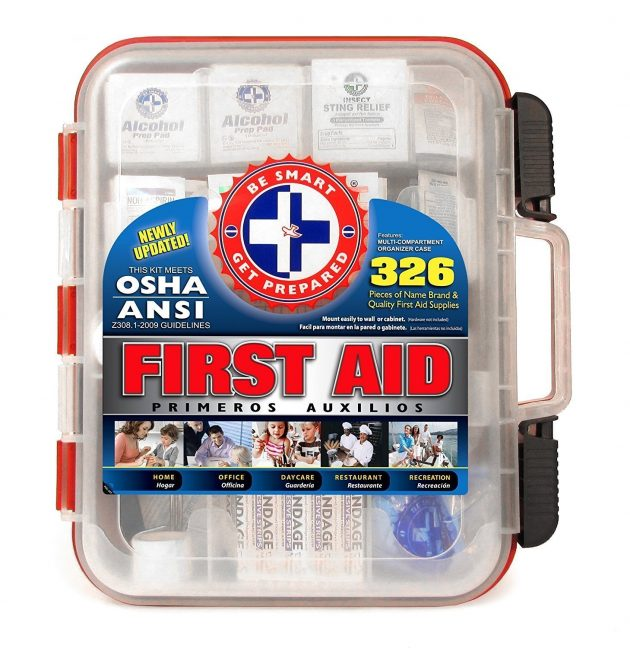 Amazon.com: 25% off Be Smart Get Prepared First Aid Kits