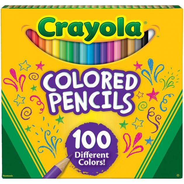 Amazon.com: Crayola Different Colored Pencils, 100 Count only $9.19!