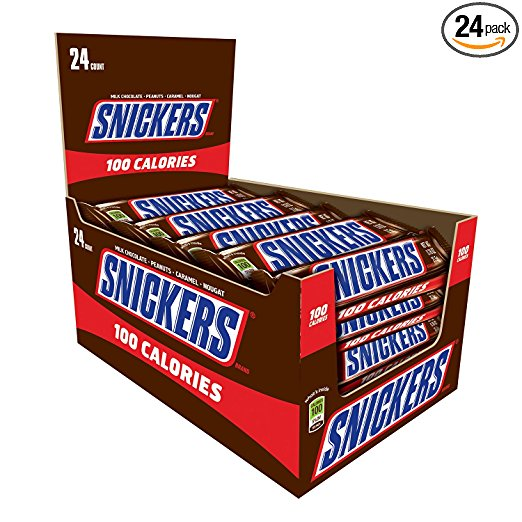 Amazon.com: Snickers 100 Calories Chocolate Candy Bar (24 count) only $8.50!