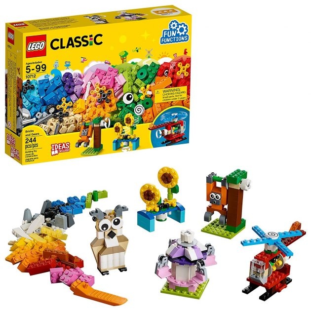 Amazon.com: LEGO Classic Bricks and Gears Building Kit only $15.99!