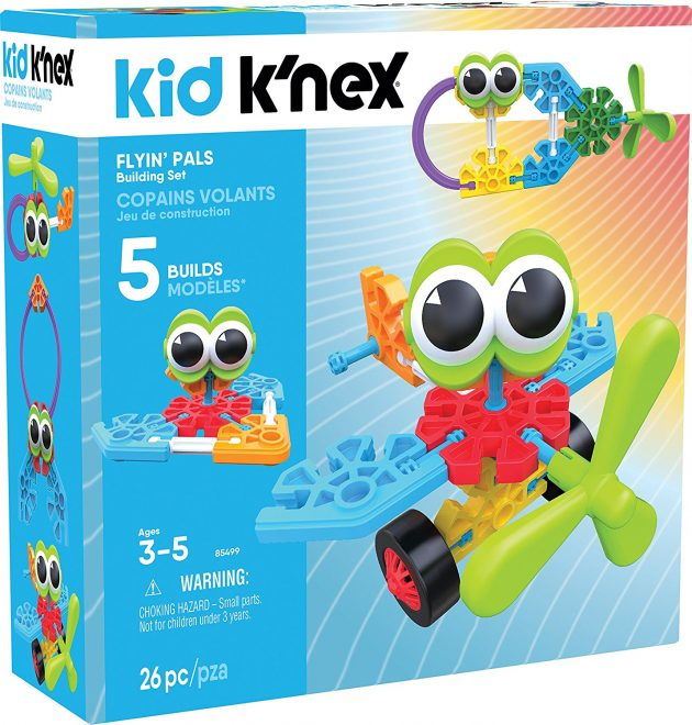 Amazon.com: Kid K'NEX – Flyin' Pals Building Set (26 pieces) only $7.42!
